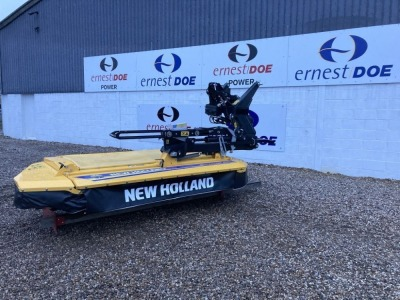 2020 NEW HOLLAND GRASS 2.8M DISCCUTT STRAIGHT MOWER NEW & UNUSED HYDRAULIC SUSPENSION, 3 WAY FOLDING NO TOP LINK PIN - (SERIAL NO KTNKL287C00000110) (11179285)