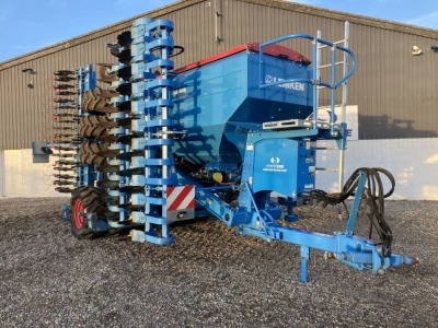 2018 LEMKEN COMPACT 6M SOLITAIR DRILL EX DEMONSTRATION MODEL 9/600 EH1,LIGHTS FRONT & REAR BRAKE SYSTEM 2X2 TRAMLINE, COMPLETE WITH CONTROL BOX - (SERIAL NO 287126) (11162705) (MANUFACTURERS WARRANTY APPLIES)