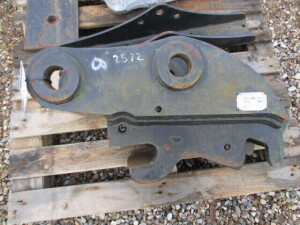 HARFORD PRO-LOCK MANUAL QUICK HITCH TO SUIT HYUNDAI R80CR-9/9A MIDI EXCAVATOR 55MM PIN DIAMETER